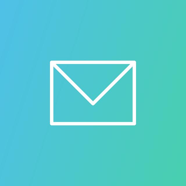 Grüner Hintergrund, E-Mail, Post, Briefumschlag